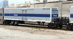 Roadrailer - Chicago IL July 9, 2002 Rail Train, Train Car, Train Tracks, Grand Funk Railroad, Freight Transport, Vintage Trains, Ho Trains, Electric Train, Rolling Stock