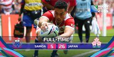 Samoa 5-26 Japó #RWC2015 #SAM vs #JPN #LeManu vs #JapanWay