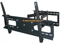 Monoprice Full-Motion Articulating TV Wall Mount Bracket - for TVs to Max Weight 132 lbs Extension Range of to VESA Patterns Up to Works with Concrete & Brick Corner Tv Wall Mount, Swivel Tv Wall Mount, Tv Wall Mount Bracket, Wall Mounted Tv, Wall Brackets, Full Motion Wall Mount, Samsung Televisions, Samsung Smart Tv, Sliding Wall