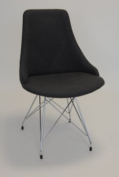 Glamour S - Side Chair - Base No 8 - Four Steel Legs