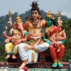 Shiva Parvathi ganesh and subramanyam. Om Namah Shivaya, Shiva Parvati Images, Shiva Shakti, Lord Shiva Hd Images, Ganesh Images, Lord Shiva Family, Shiva Statue, Shiva Wallpaper, Hindu Deities