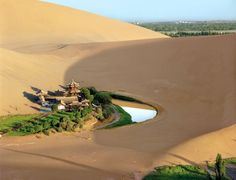 Conde Nast Traveller - The Secret of the Caves | Crescent Lake, Dunhuang, China
