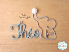 Wire Crafts, Diy And Crafts, Wire Letters, Baby Door, Craft Business, Toddler Crafts, Crochet Stitches, Projects To Try, Creations