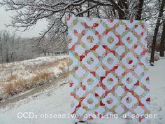 ocd: obsessive crafting disorder: Drunkard's Path QAL: