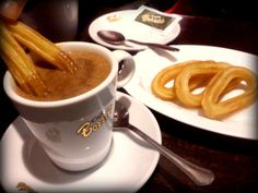 Churros. Sevilla, Spain.