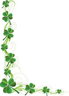 HD Collection Zone: St patrick's day clip art borders
