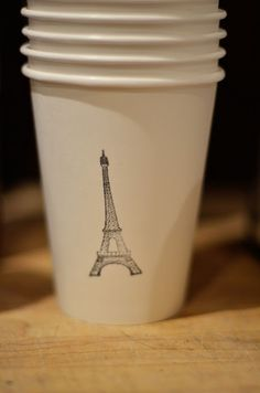 Stamped Paper cups!