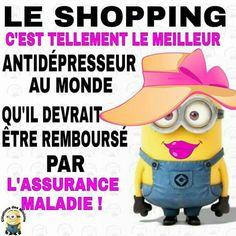 Shopping antidépresseur
