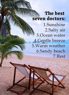 Beach Quotes, One of the best things You'll need in Summer Time because Beach is the most comfortable place in summer. Affirmations, Ocean Quotes, Nature Quotes, Best Doctors, I Love The Beach, Just Dream, Am Meer, Beach Bum, Summer Beach