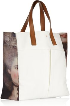 Anya Hindmarch | Nevis Lady printed canvas and leather shopper