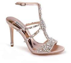 4079112c8d41 Badgley Mischka Hughes Crystal Embellished Sandal (Women)