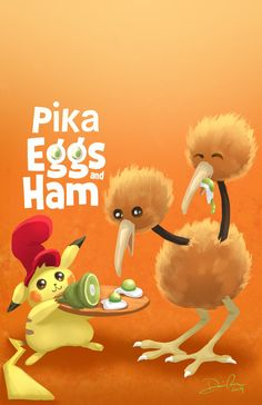 Watch Green Eggs and Ham on Netflix Nov I worked on the show for years and I'm so excited to finally see it premiere! Pokemon, Pikachu, Green Eggs And Ham, Kids Writing, Cartoon Drawings, Good Books, Netflix, Journal Notebook, Crossover