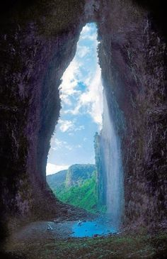 Cueva del Fantasma (Cave of the ghost), discovered 6 years ago in a jungle of southern Venezuela.