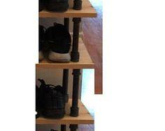 Estilo industrial zapato rack estante 5 la versión como en imagen de concepto.