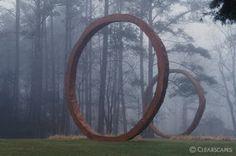 Thomas Sayer, Gyre, Earthcast concrete, 1999.