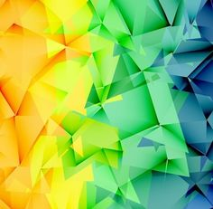 Colorful Messy Low Poly Style Abstract Background Vector Illustration