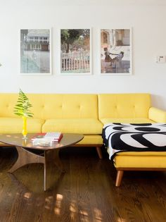 This Nashville home has retro funky vibes.