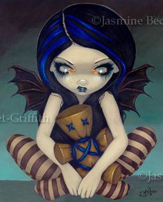 Voodoo In Blue by Jasmine Beckett-Griffith.