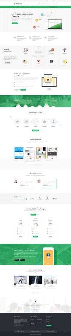 Seo Wave - Seo Company PSD Template - PSD Templates   ThemeForest