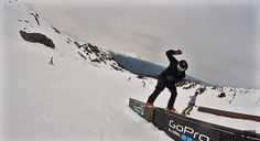 Darcy Sharpe Whistler Spring Laps - Shred Bots | BOARD ACTION