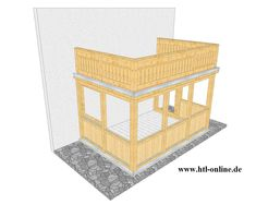 Wintergarten aus Holz - HTL #Holztechnik #Holz #Arbeit mit Holz #Wintergarten aus Holz