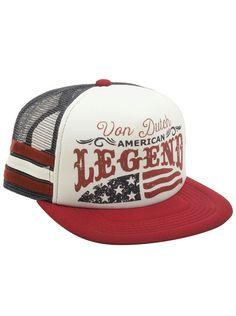 432468857b2 Von Dutch American Legend Flag Hat in Blue RedPrice   34.95 Men s Hats