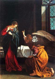 Orazio Gentileschi, Annunciazione San Siro Genova