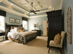 Don't Forget the Ceiling - Style-Boosting Bedroom Updates on HGTV