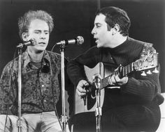 Simon & Garfunkel at Forest Hills Tennis Stadium circa 1967 Simon Garfunkel, Paul Simon, Classic Rock, Rock N Roll, Singing, Folk, Album, Songs, Concert