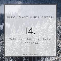 Ulkoilmajoulukalenteri – Metsäemo Preschool Christmas, Celestial, Xmas Ideas, Kindergarten Christmas