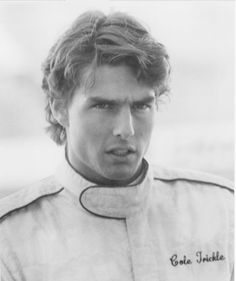 """Tom Cruise as Cole Trickle in """"Days of Thunder"""", 1990"""