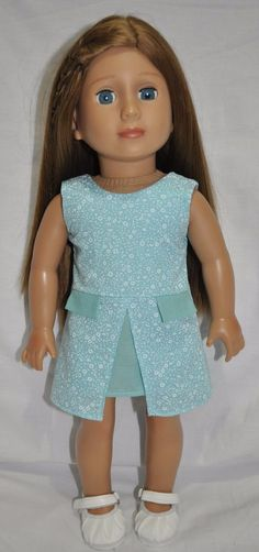 American Girl Doll Our Generation Journey Gotz 18  Doll Clothes Dress & Shoes