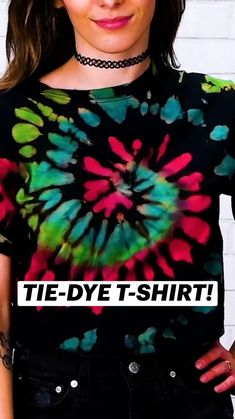 Diy Crafts Hacks, Diy Arts And Crafts, Cute Crafts, Crafts To Do, Easy Crafts, Diy Home Crafts, Creative Crafts, How To Tie Dye, Diy Tie Dye