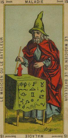 The Magician - Tarot of Etteilla
