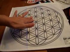 Flower of Life Crystal Grid Cloths - A New Way