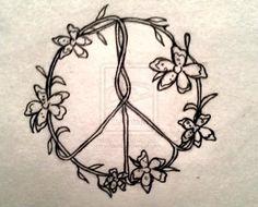 nice peace tattoo