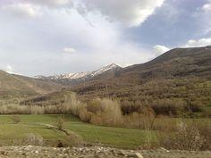 Beautiful Landscape in Baneh County in the Kurdistan Province of Iran.