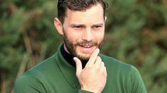 Jamie Dornan handles a beard with panache