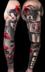 Amazing jester skull girl   volko and simone