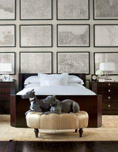 This is Ralph Lauren Home. || http://tattylace.files.wordpress.com/2013/03/dogs-in-room.jpg