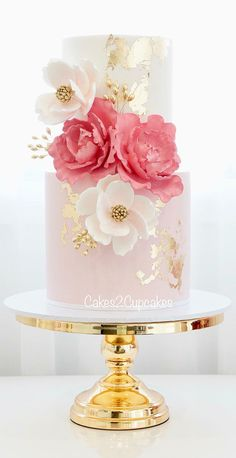 Cakes 2 Cupcakes - Engagements and Weddings Elegant Wedding Cakes, Elegant Cakes, Beautiful Wedding Cakes, Gorgeous Cakes, Wedding Cake Designs, Pretty Cakes, Elegant Birthday Cakes, 2 Tier Wedding Cakes, Fondant Cakes