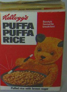U.K. Puffa Puffa Rice Box