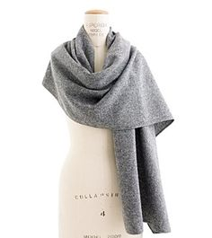 Wool tweed scarf by The Hill-Side via Madewell
