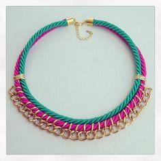 Collar Arabesque. www.matraquilla.com Diseño y creación artesanal de accesorios…