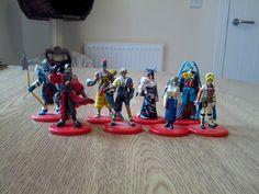 Final Fantasy X Coca Cola figures