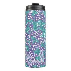 Texas Bluebonnets Thermal Tumbler