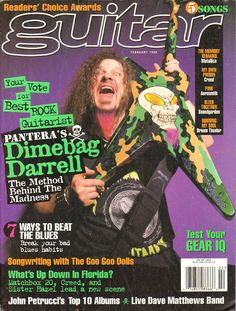 1998 February Guitar for the Practicing Musician Magazine Back-Issue