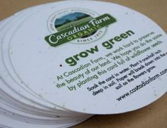 Seed Paper coasters are ideal for Bar/Pub promotions, POS, retail launches, press launches, events, exhibitions, promotional giveaways, experiential marketing, PR and any sustainable or environmentally themed promotion. Experiential Marketing, Seed Paper, Promotional Giveaways, Print Ideas, Wine Recipes, Screen Printing, Coasters, Seeds, Happiness