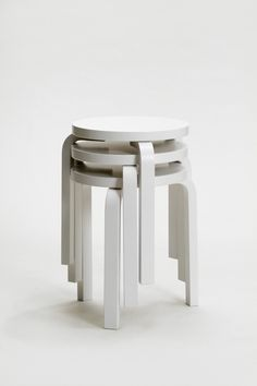 Alvar Aalto, Stool E60, 1933