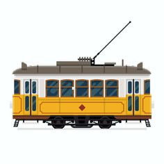 Find Lovely Retro Vector Detailed Tram Car stock images in HD and millions of other royalty-free stock photos, illustrations and vectors in the Shutterstock collection. Thousands of new, high-quality pictures added every day. Lisbon Tram, Vintage House Plans, Bonde, Retro Vector, Car Illustration, Web Design, Cool Countries, Mountain Landscape, Free Vector Images